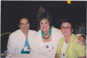 Karol Wahlberg, Barbara Thornton, Carolyn Cronin (40th Reunion)
