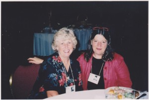 40th Reunion:  Cathy Alleman, Winnie Scherrer