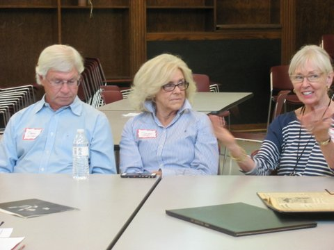 Perry, Sharon at Student Leadership meet up